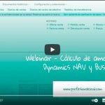 Cálculo de la amortización en Dynamics NAV y Business Central [WEBINAR]