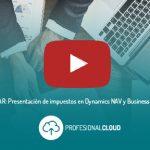 Presentación de impuestos con Dynamics 365 Business Central [Webinar]